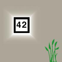 Hausnummer-Leuchten