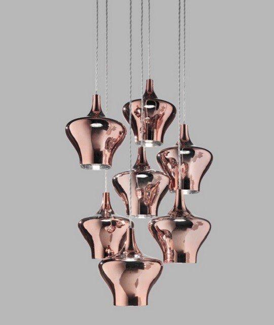 Studio Italia Design - Nostalgia Glas Medium Pendelleuchte