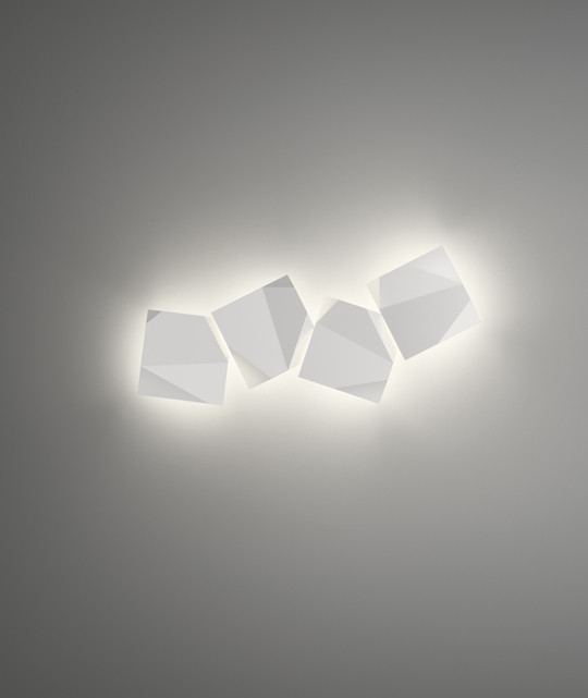 Vibia - Origami Outdoor-Wandleuchte 4508