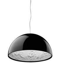 Flos - Skygarden 2 Eco Pendelleuchte Schwarz glänzend