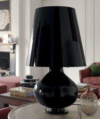 Fontana Total Black Tischleuchte